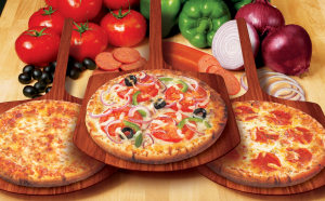 3 pizza